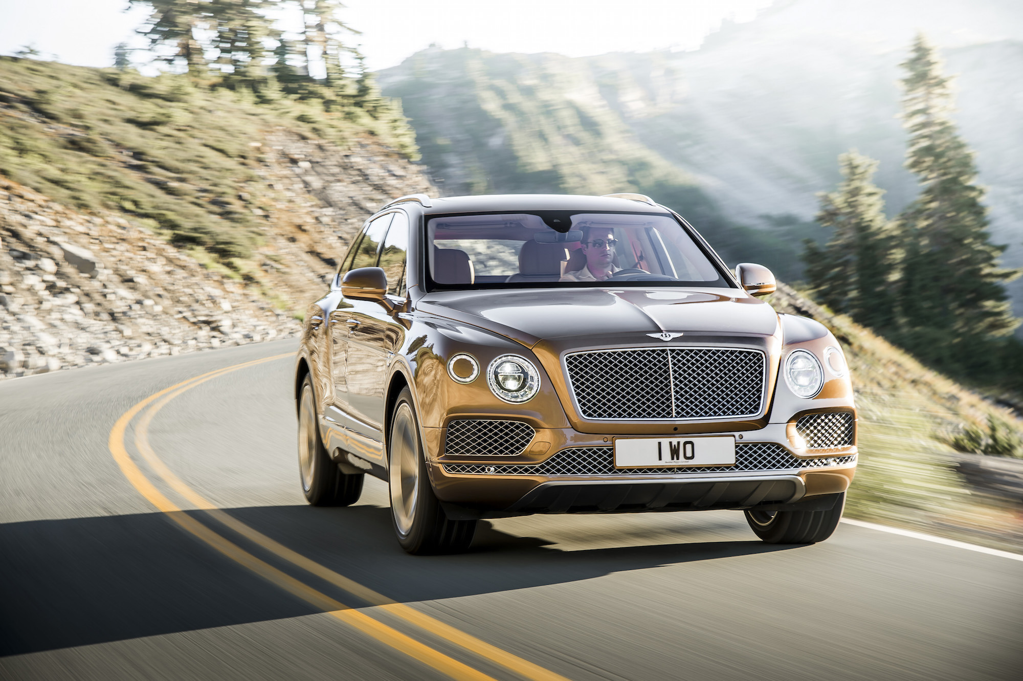 Original bentley bentayga 1