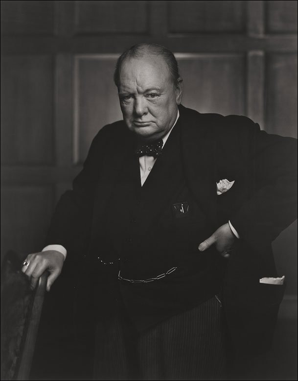 Winston Churchill by Yousef Karsh