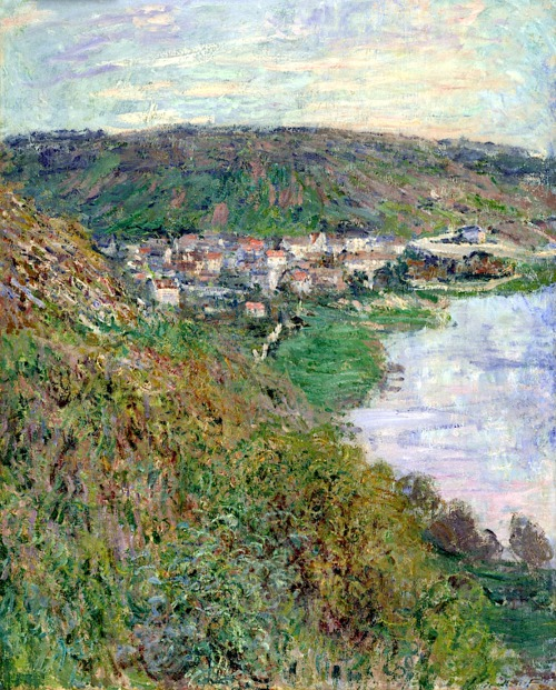 16View of Vétheuil - Claude Monet 1880