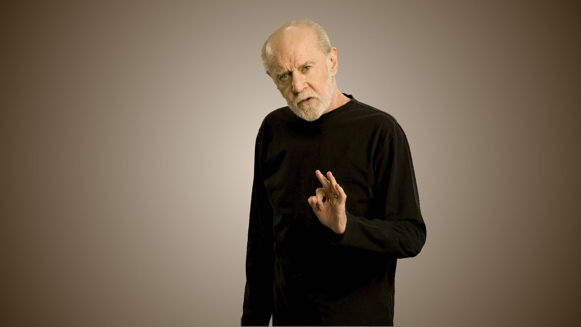 George Carlin-Backdrop