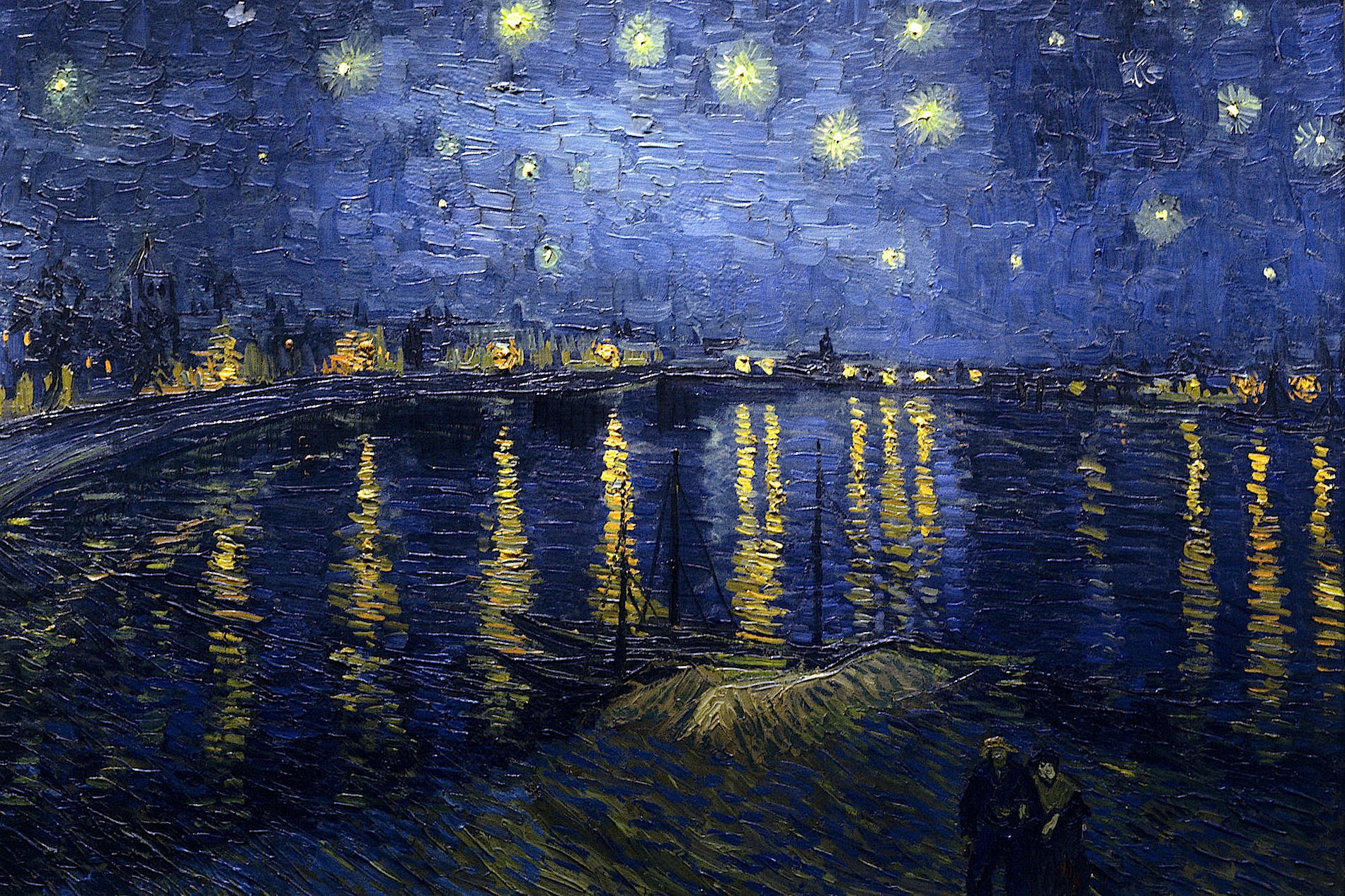 1Starry Night Over the Rhone