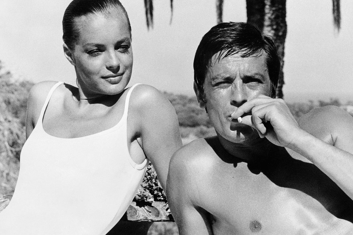 5Alain Delon and Romy Schneider in La Piscine directed by Jacques Deray 1969