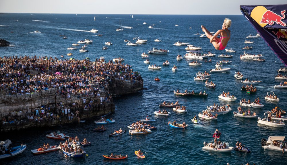7Red Bull Cliff Diving World Series 2015 Polignano a Mare Rachelle Simpson