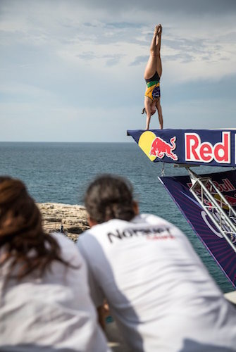24Red Bull Cliff Diving World Series 2015 Polignano a Mare Jacqueline Valen