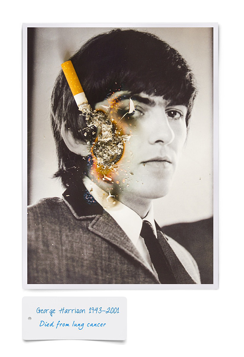 1George harrison cigarette