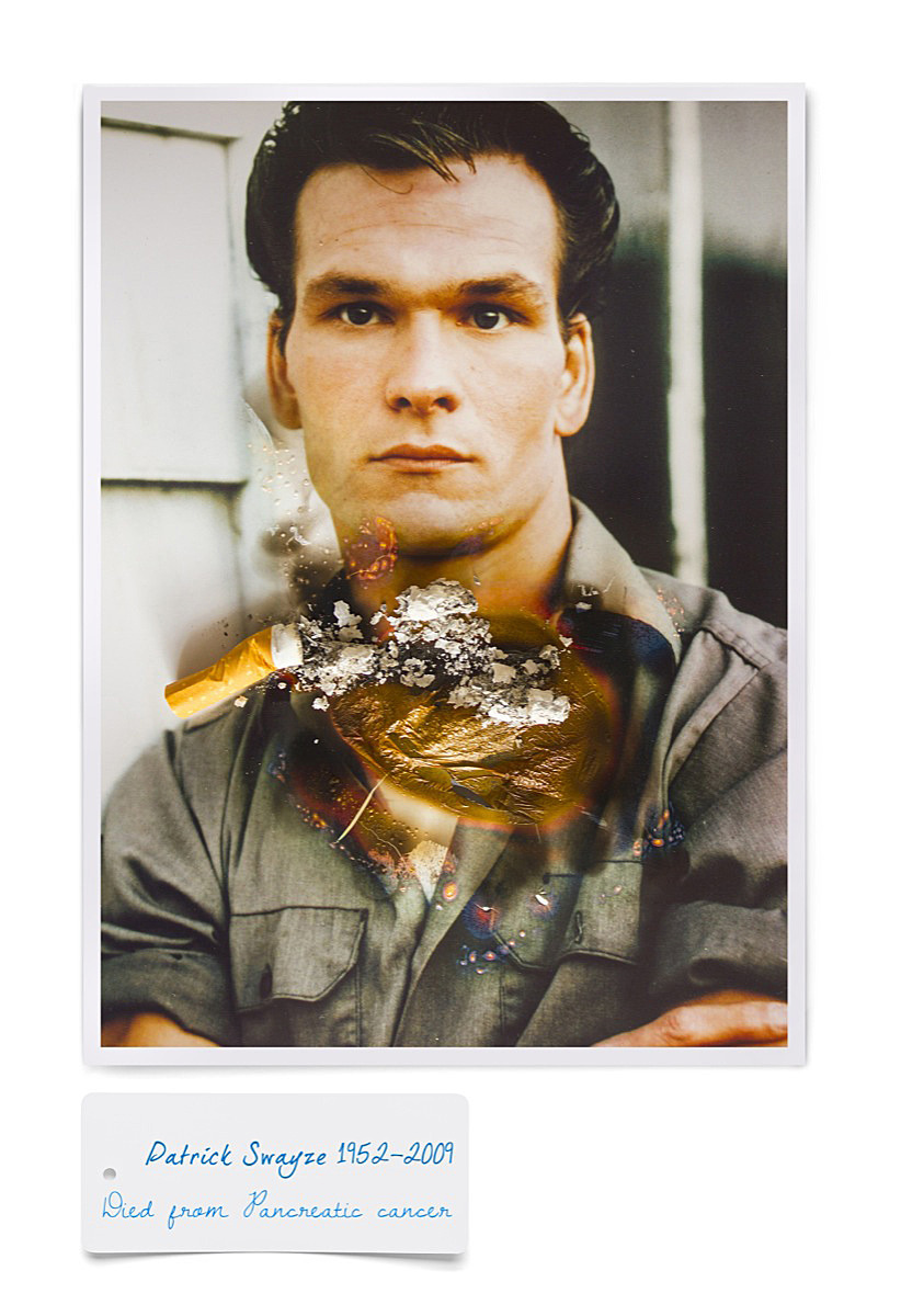 4Patrick Swayze smoking death