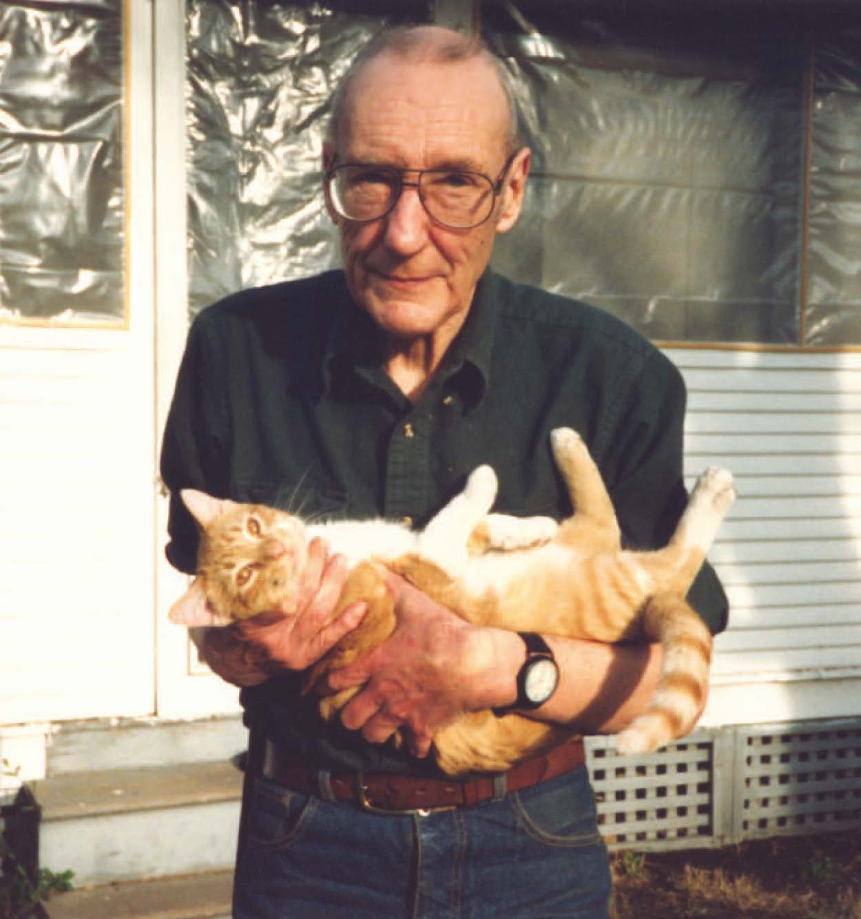 Escritores-y-sus-gatos-William-S.-Burroughs