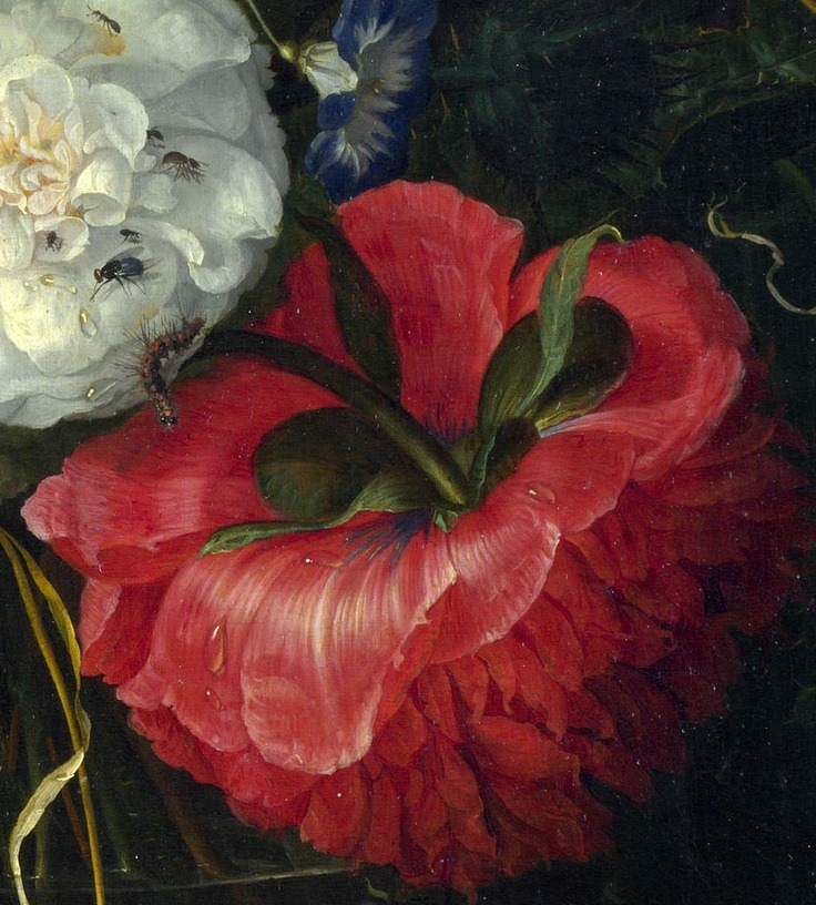 6Jacob van Walscappelle - Flowers in a Glass Vase