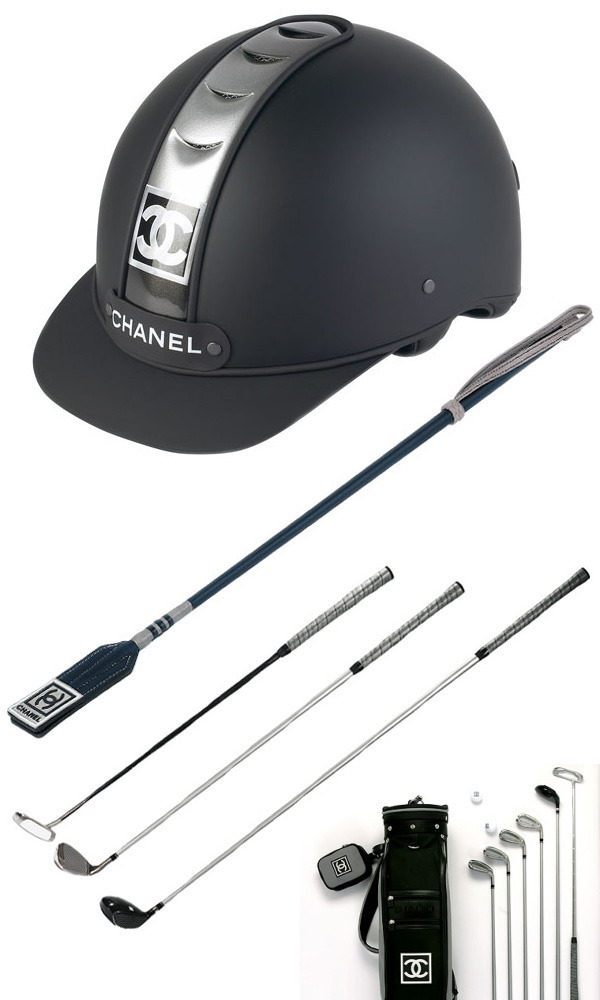 7-chanel-sport-riding-hat-whip-golf-bag-clubs