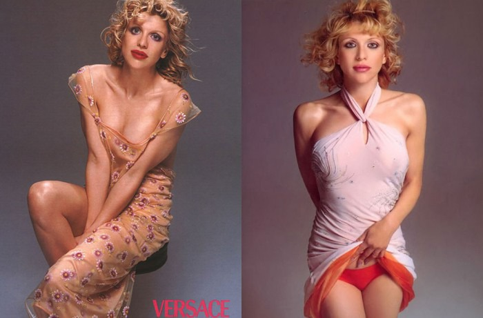 Courtney Love 1 Model Management by Richard Avedon for Versace