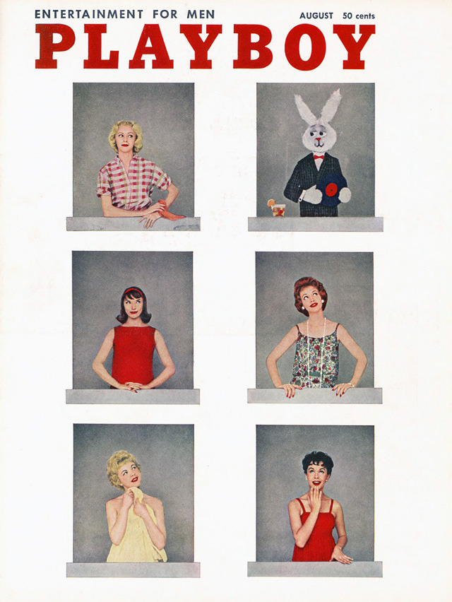 Playboy August1958